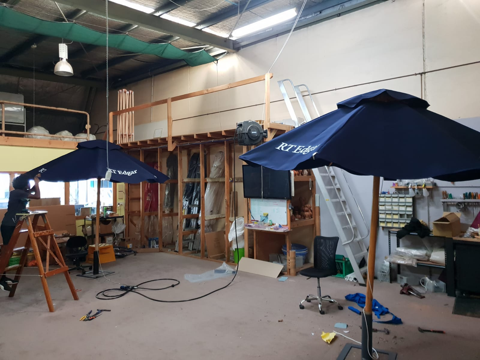 Made in the shade outdoor umbrella refurb